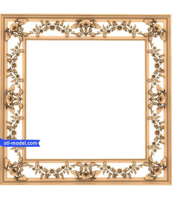 "Frame ""Frame #159"" | STL - 3D model for CNC"