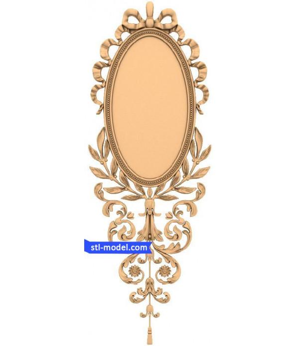 "Frame ""Frame #161"" | STL - 3D model for CNC"