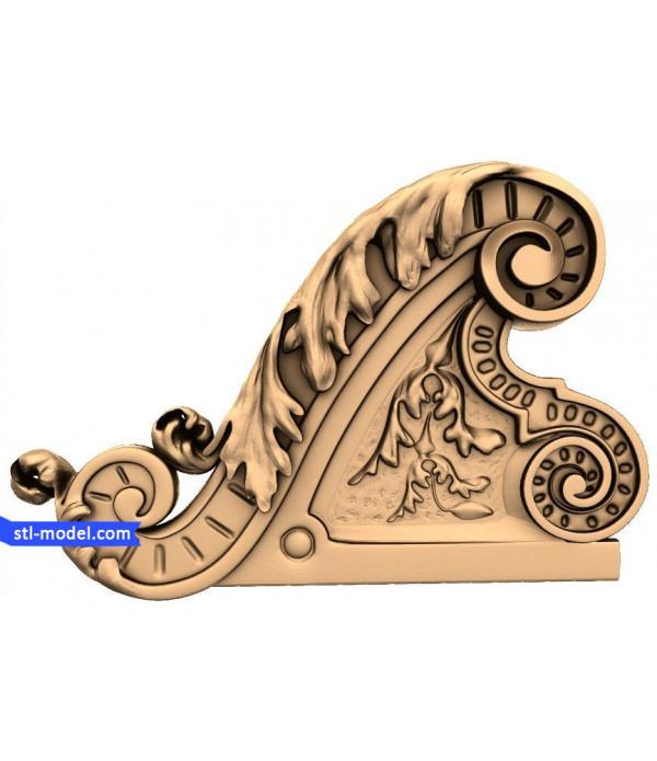 "Decor ""decor #18"" | STL - 3D model for CNC"