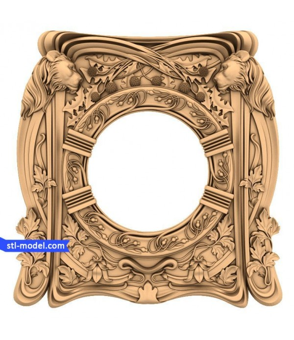 "Frame ""Frame #162"" | STL - 3D model for CNC"