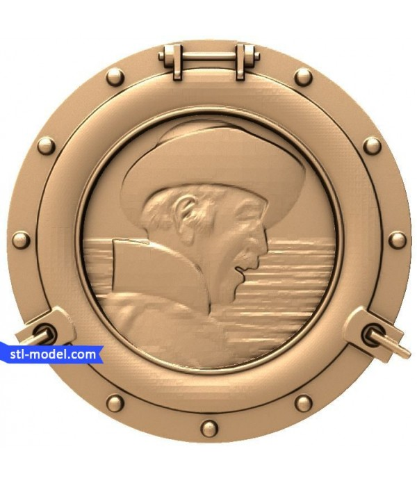 "Bas-relief ""Port-hole"" 