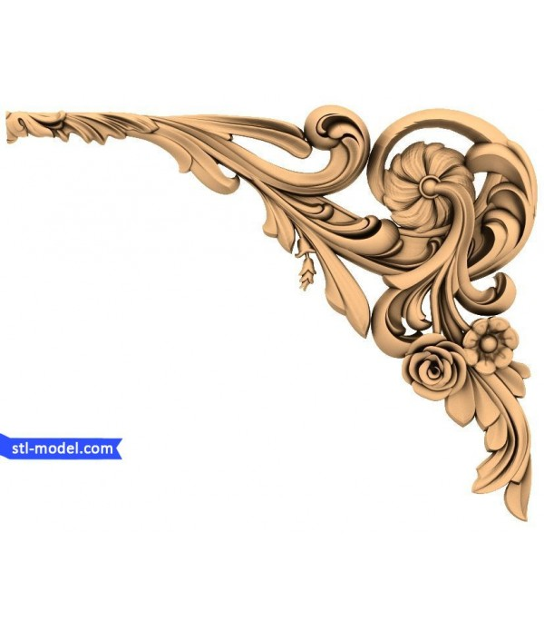 "Corner decor ""Corner decor #5"" 