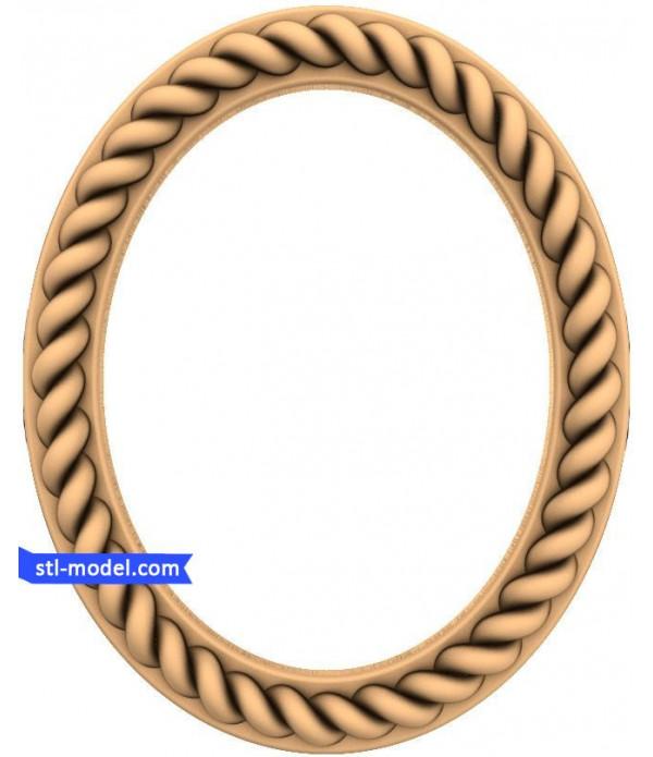 "Frame ""Frame #110"" | STL - 3D model for CNC"