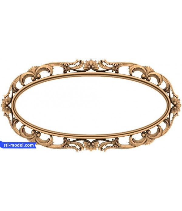 "Frame ""Frame #171"" | STL - 3D model for CNC"