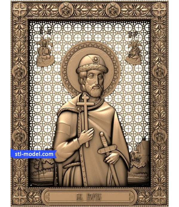 "Icon ""St. Boris"" 
