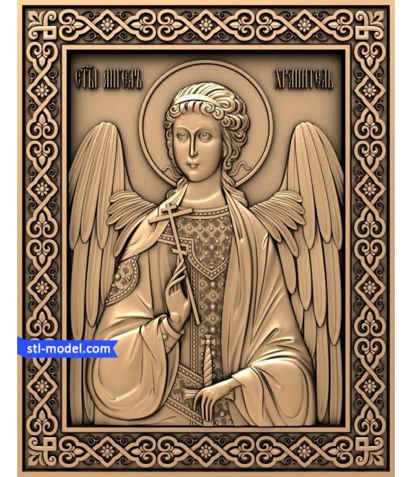 "Angel ""Angel #2"" | STL - 3D model for CNC"