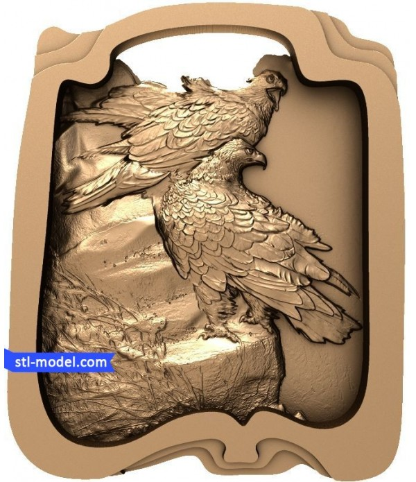 """Bas-relief """"Needle"""" 