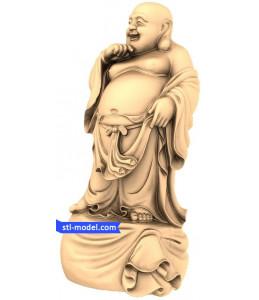 Buddha thick full height