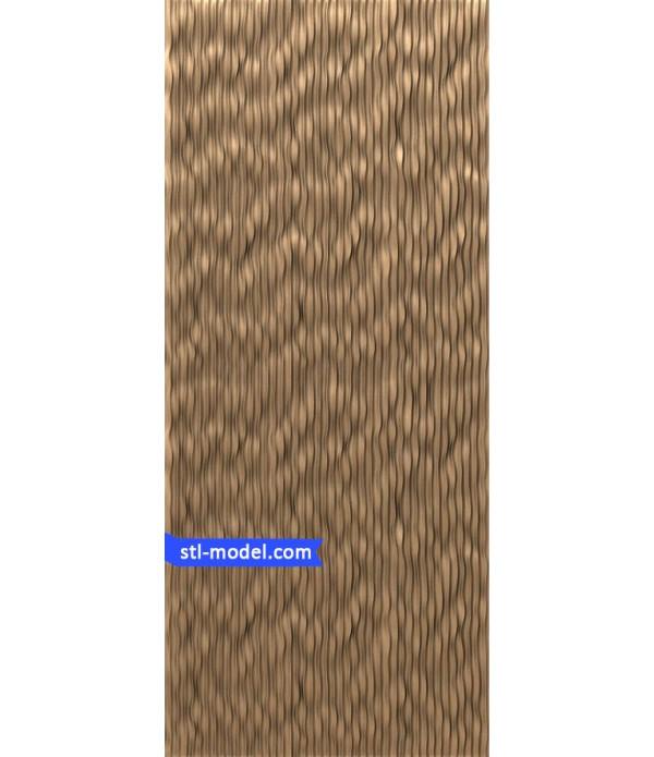"Panel ""Panel #29"" | STL - 3D model for CNC"