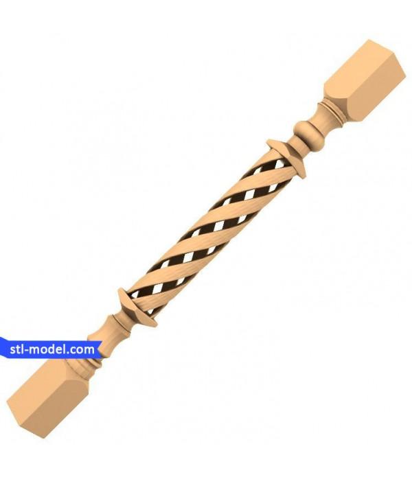 "Baluster ""Balusterl #4"" | STL - 3D model for CNC"