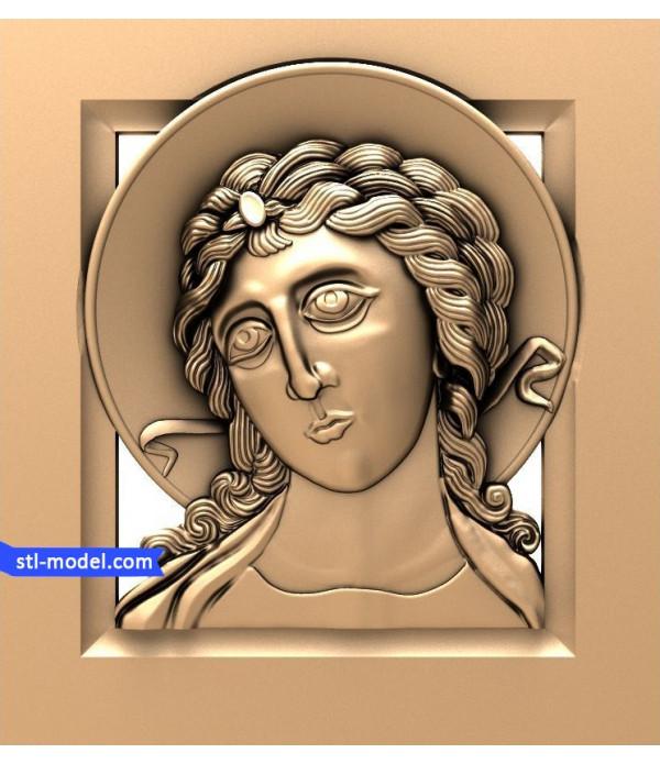 "Angel ""Angel #9"" | STL - 3D model for CNC"