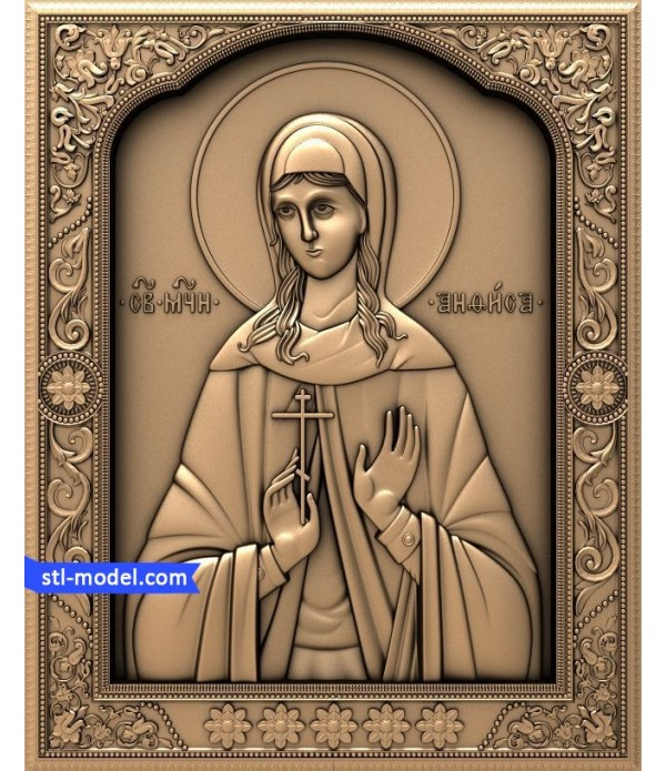 """Icon """"Holy Martyr Anfisa"""" 