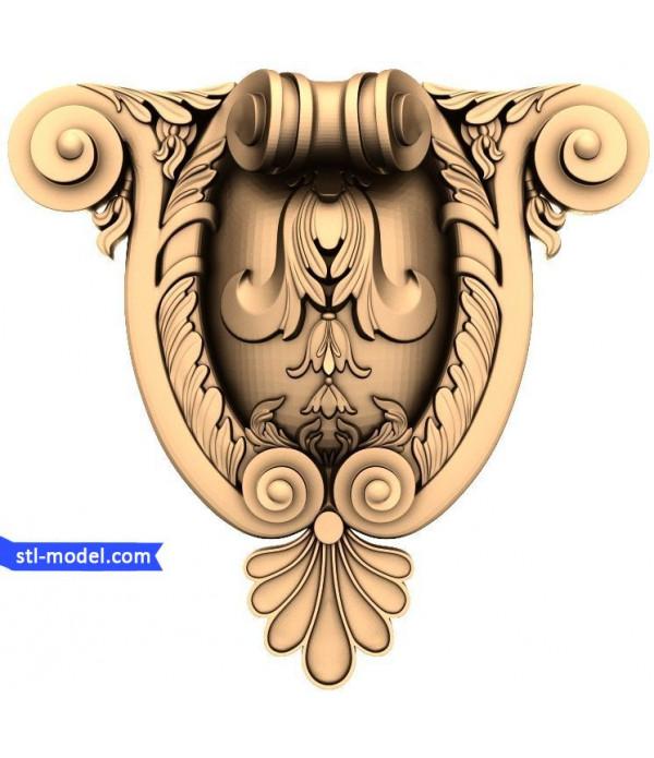 "Decor ""decor #68"" | STL - 3D model for CNC"