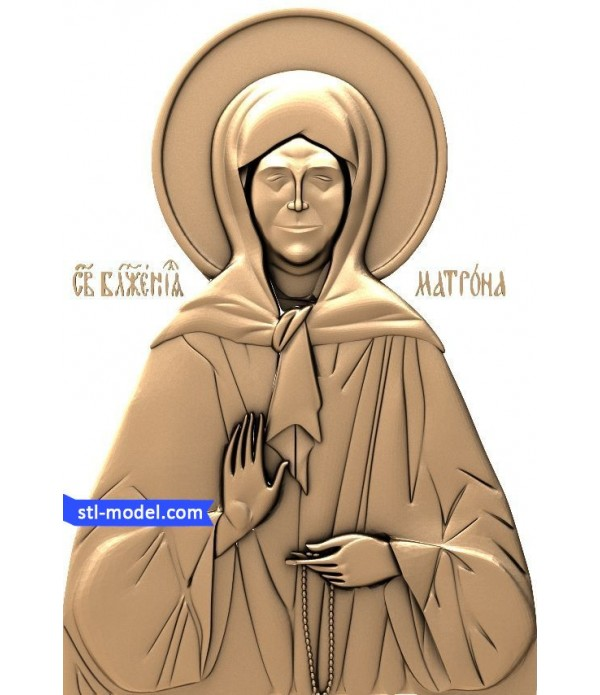 "Icon ""St. Matrona #6"" 