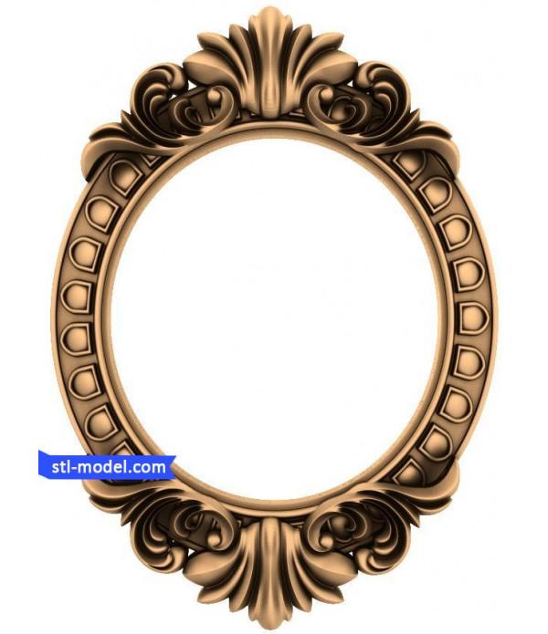 "Frame ""Frame #33""   STL - 3D model for CNC"