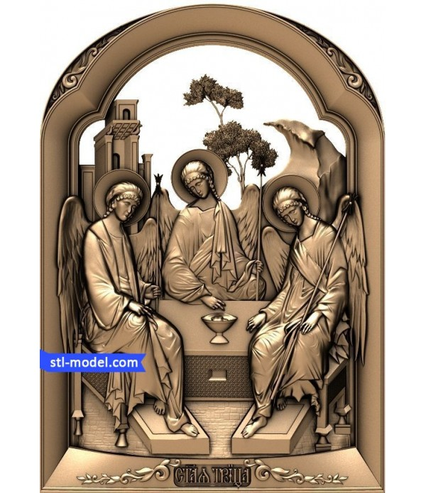 "Icon ""Holy Trinity #2"" 
