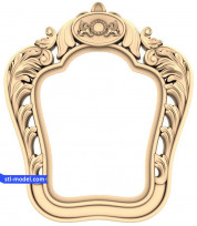 "Frame ""Frame #543"" | STL - 3D model for CNC"