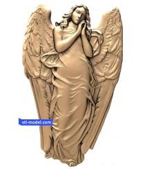 "Angel ""Angel #20""   STL - 3D model for CNC"