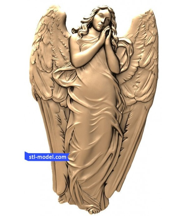 "Angel ""Angel #20"" | STL - 3D model for CNC"