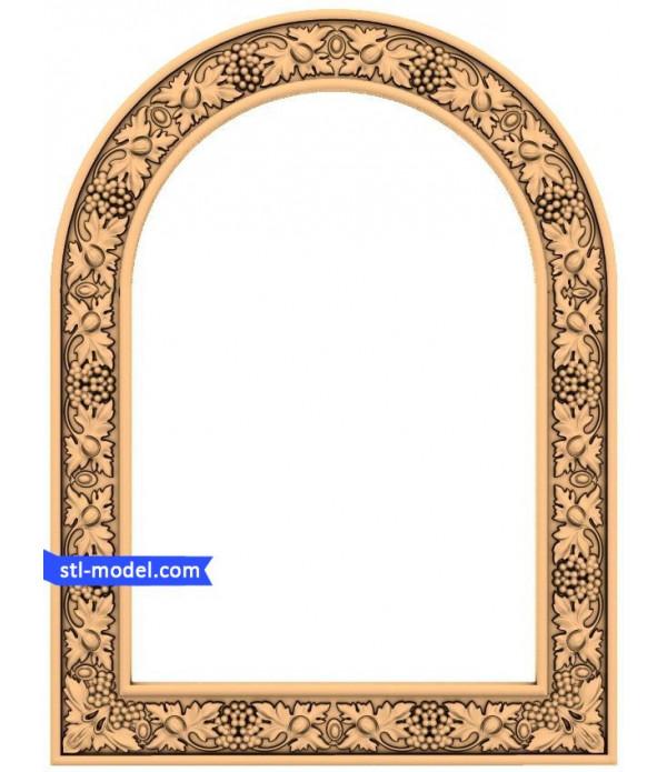 "Frame ""Frame #7"" | STL - 3D model for CNC"
