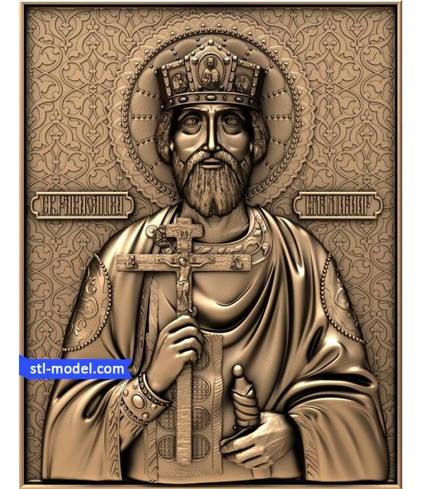 "Icon ""St. Vladimir #2"" 