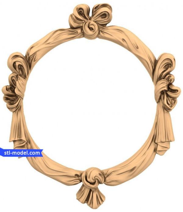 "Frame ""Frame #174"" | STL - 3D model for CNC"
