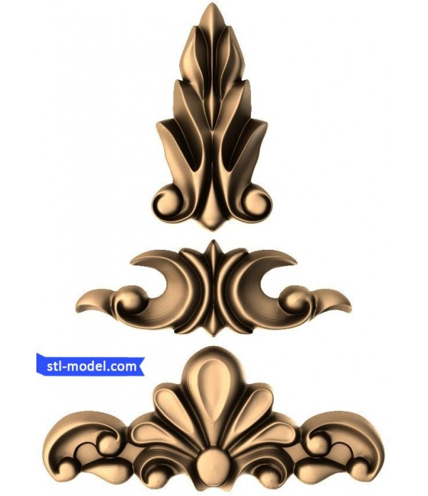 "Decor ""decor #74"" | STL - 3D model for CNC"
