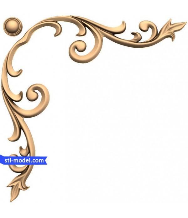 "Decor ""decor #162""   STL - 3D model for CNC"
