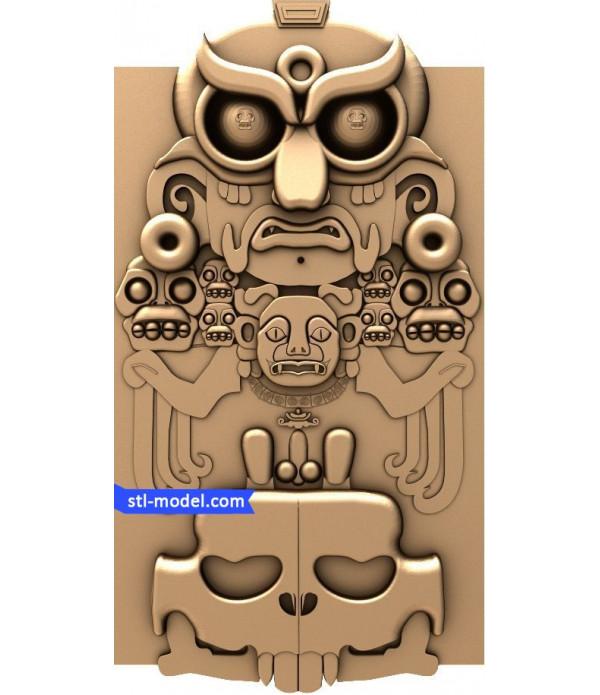 "Bas-relief ""Bas-relief #1"" | STL - 3D model for CNC"