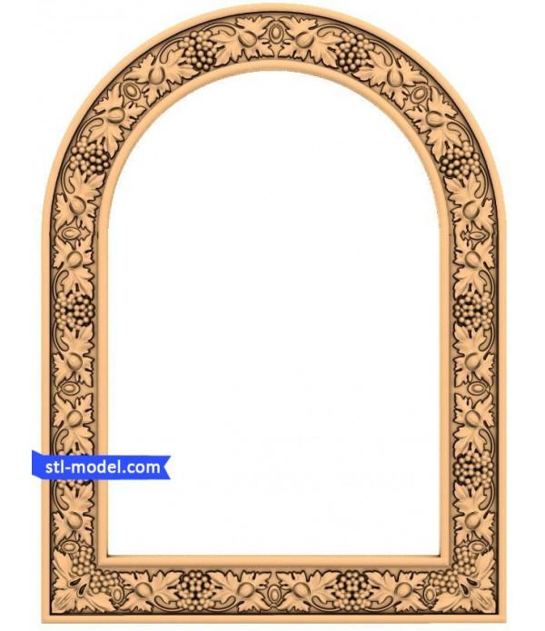 "Frame ""Frame #22"" | STL - 3D model for CNC"