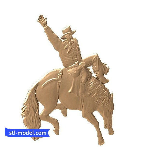 "Bas-relief ""Rodeo"" 