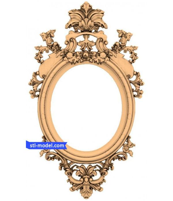 "Frame ""Frame #71"" | STL - 3D model for CNC"