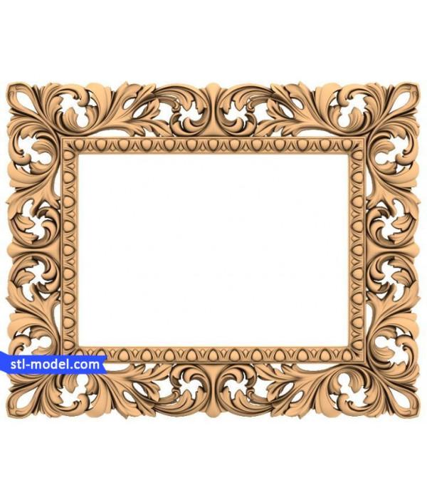 "Frame ""Frame #176"" | STL - 3D model for CNC"