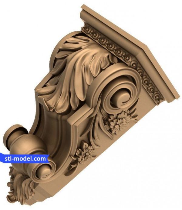 "Corbel ""Corbel #80"" | STL - 3D model for CNC"