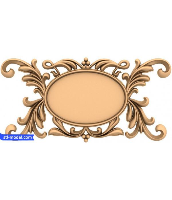 "Frame ""Frame #182""   STL - 3D model for CNC"
