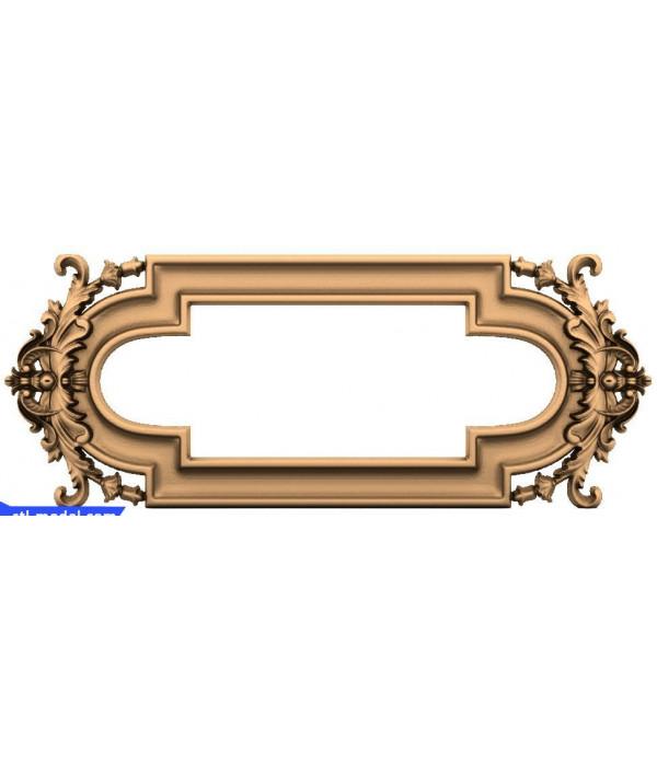 "Frame ""Frame #146"" | STL - 3D model for CNC"