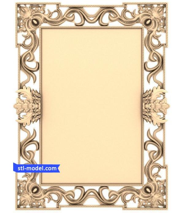 "Frame ""Frame #544"" | STL - 3D model for CNC"