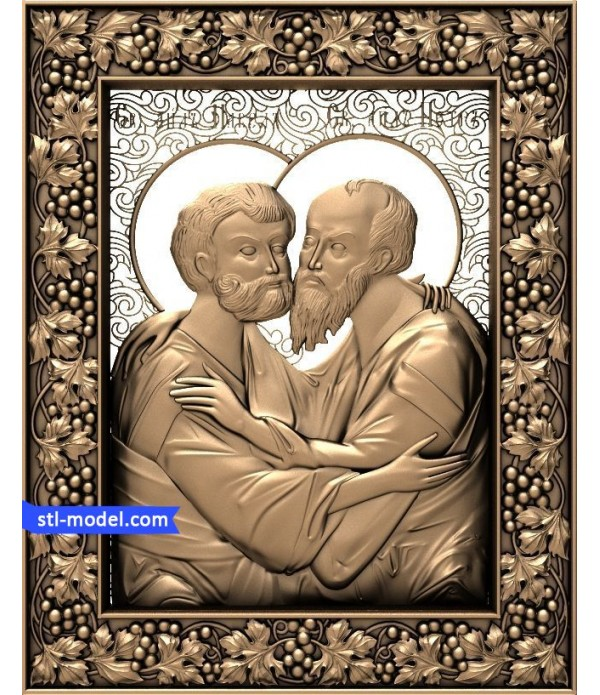 "Icon ""St. Paul and Peter #2"" 