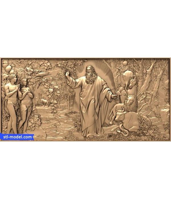 """Bas-relief """"Creation"""" 