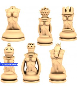 "Chess set ""Erotic"" 