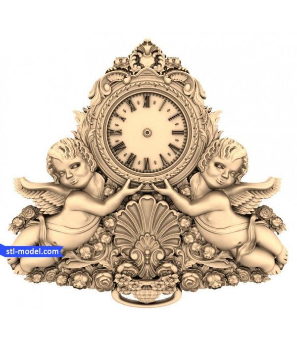 "Watch ""Angels"" | 3D STL model for CNC"