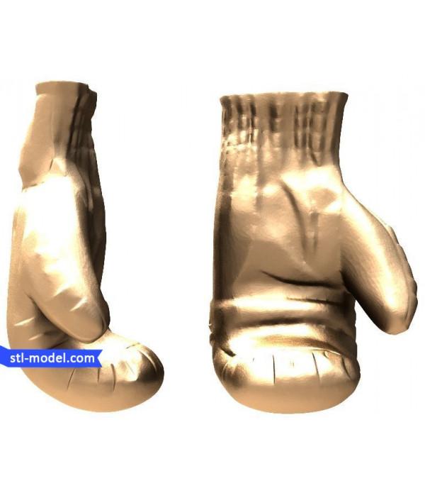 "Bas-relief ""Gloves"" | STL - 3D model for CNC"