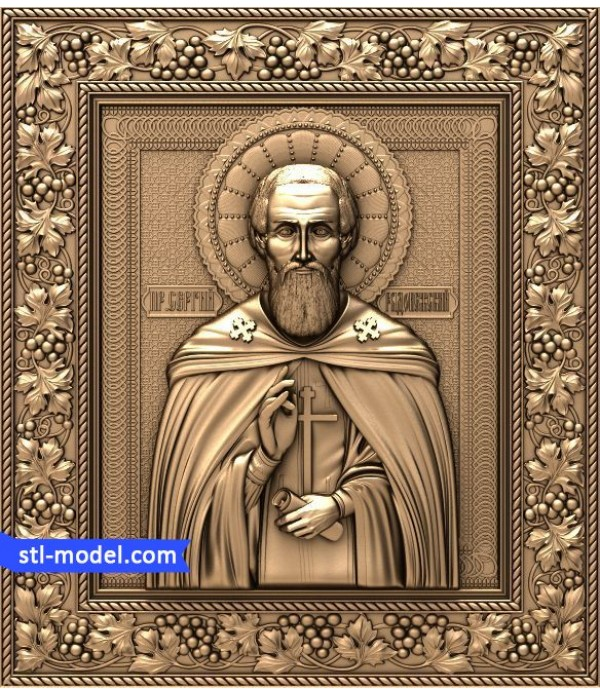 "Icon ""St. Sergius of Radonezh"" 