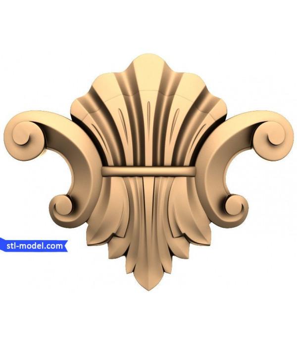 "Decor ""decor #130""   STL - 3D model for CNC"