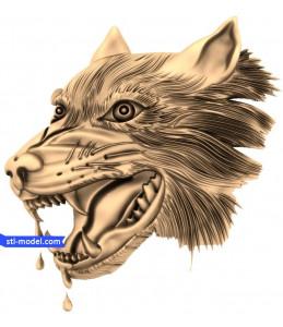 Wolf head (2)