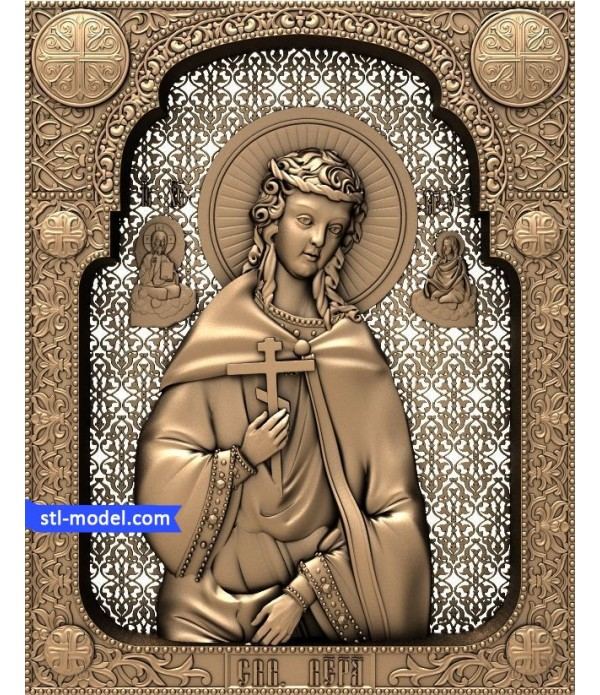 """Icon """"Holy Martyr of the Faith"""" 