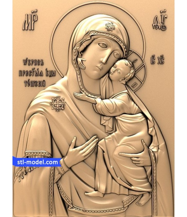 "Icon ""mother of God of the Tolga"" 