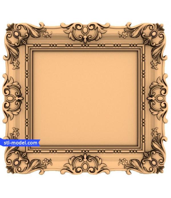 "Frame ""Frame #108"" | STL - 3D model for CNC"