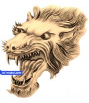 Wolf head (8)
