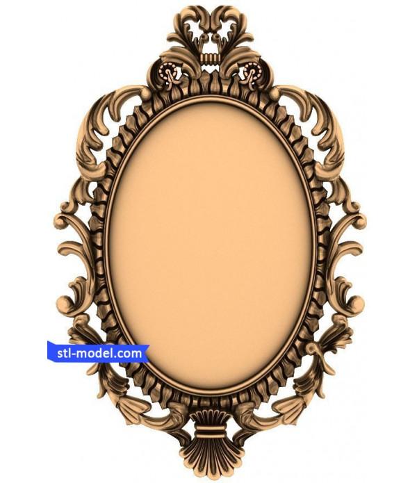 "Frame ""Frame #52"" | STL - 3D model for CNC"